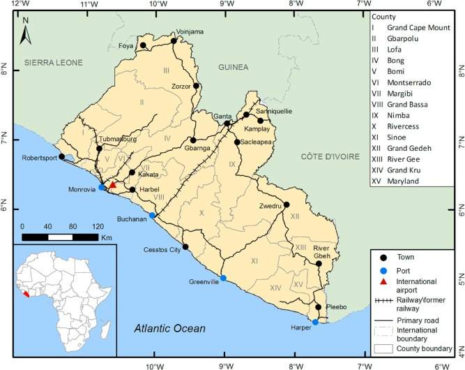 A review of the mineral potential of Liberia - ScienceDirect