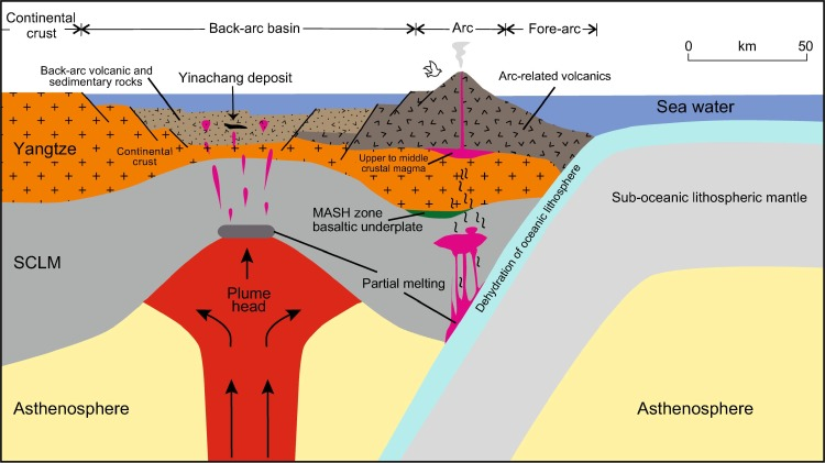 The Yinachang Fe-Cu-Au-U-REE deposit and its relationship