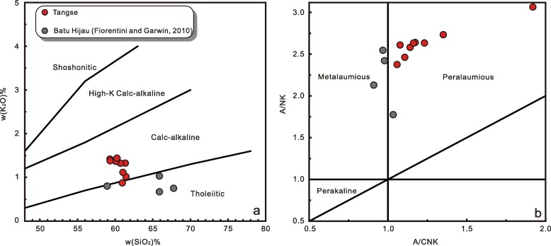 Late Miocene adakites associated with the Tangse porphyry Cu-Mo
