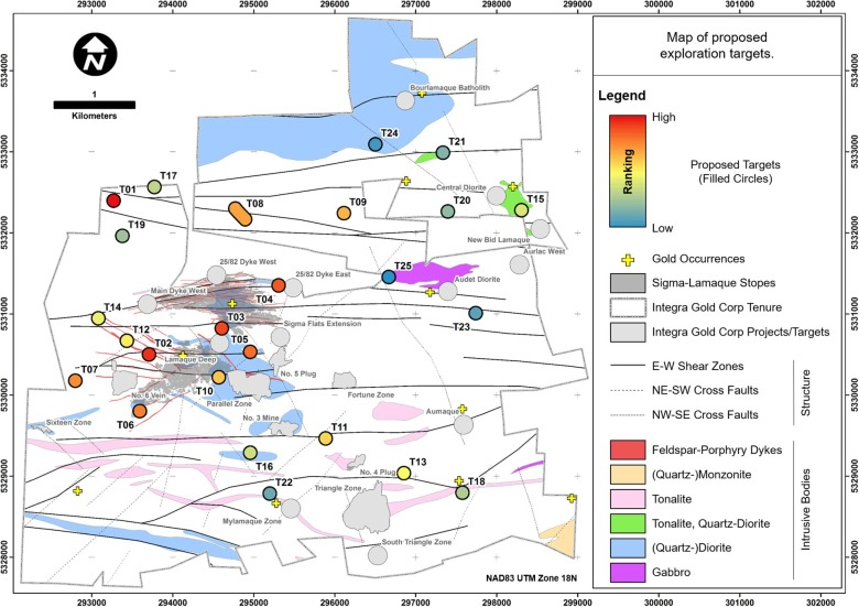 An integrated approach to the search for gold in a mature