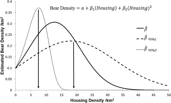Black bear recolonization patterns in a human-dominated