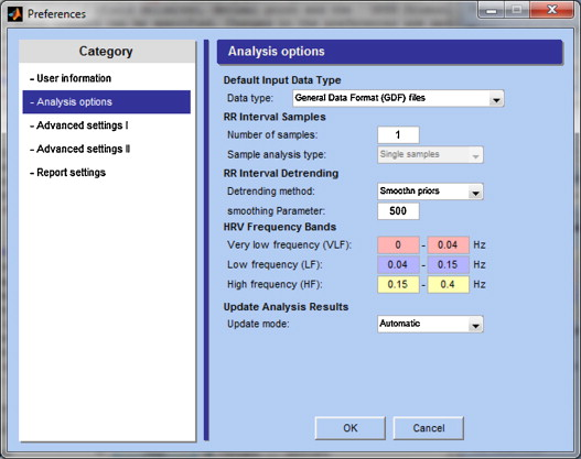 Kubios HRV – Heart rate variability analysis software