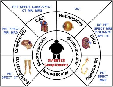 Molecular imaging of diabetes and diabetic complications