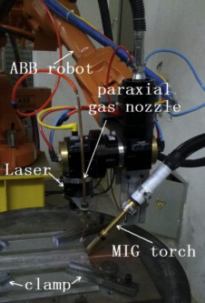 Characteristics of microstructure and fatigue resistance of hybrid