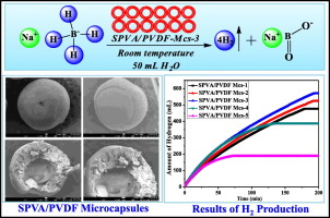 Sulfonic acid functionalized PVA/PVDF composite hollow