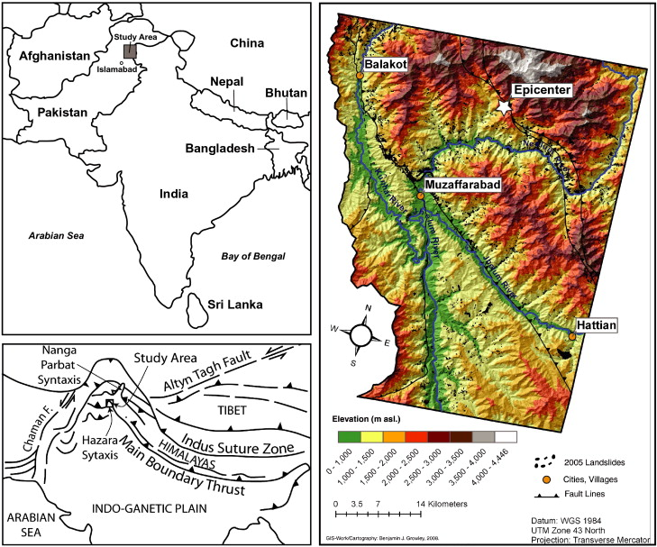 Gis based landslide susceptibility mapping for the 2005 kashmir download full size image publicscrutiny Image collections