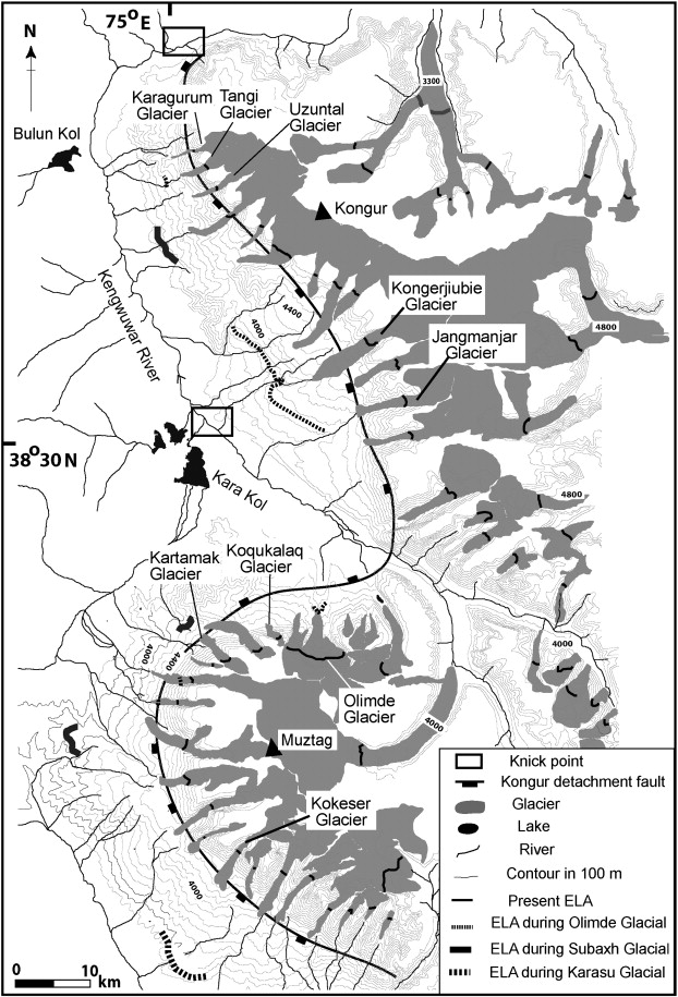 Geomorphology Of Anomalously High Glaciated Mountains At The