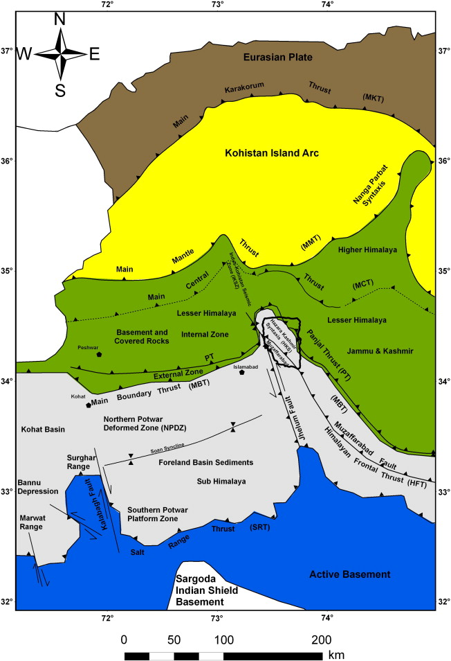 Spatial distribution analysis of mass movements triggered by the the investigated area is located near the muzaffarabad fault and the epicentre of the 2005 kashmir earthquake which is denoted by publicscrutiny Image collections