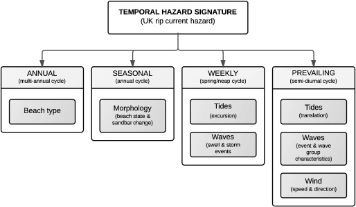 Controls on macrotidal rip current circulation and hazard