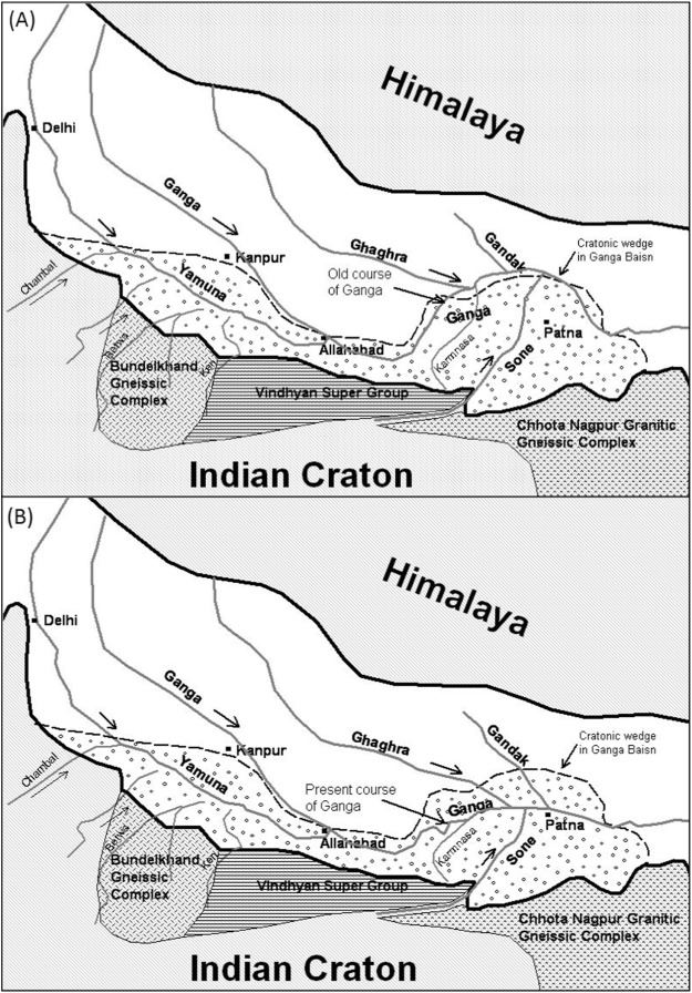 Sone megafan: A non-Himalayan megafan of craton origin on