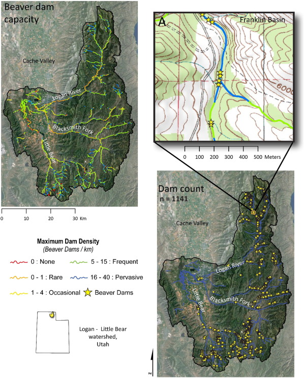 Modeling the capacity of riverscapes to support beaver dams ... on dayton state map, dupont state map, quintana roo state map, kentucky state map, kenosha state map, n.c. state map, northern wisconsin state map, deerwood campus map, yale state map, spokane state map, augusta state map, tucson state map, hillsdale state map, kent ohio, saginaw valley map, north east region state map, rochester state map, walla walla state map, montgomery state map, northern minnesota state map,