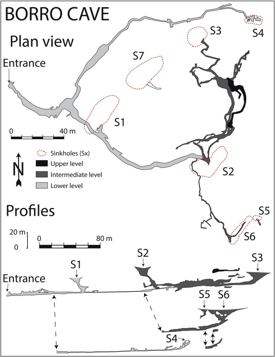 Sinkholes And Caves Related To Evaporite Dissolution In A
