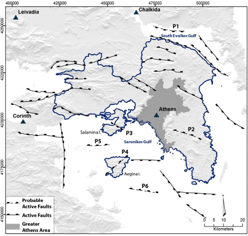 Fault Specific Gis Based Seismic Hazard Maps For The Attica Region