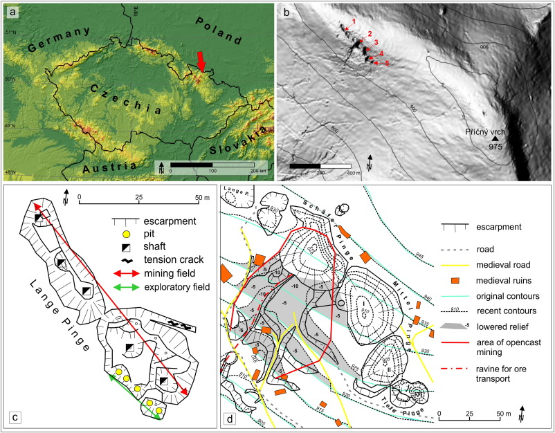 Genesis and geomorphic evolution of the Velké pinky stopes in the