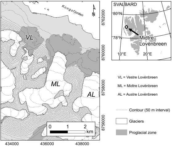 Evolution of high-Arctic glacial landforms during
