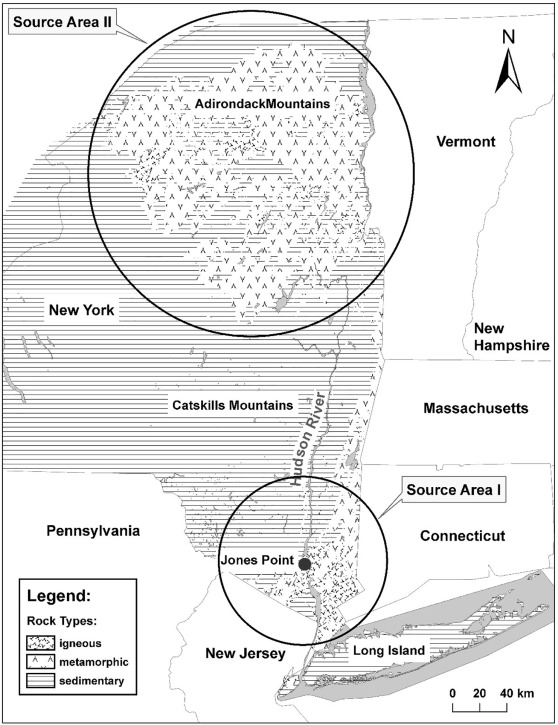 Geochronology and geomorphology of the Jones Point glacial