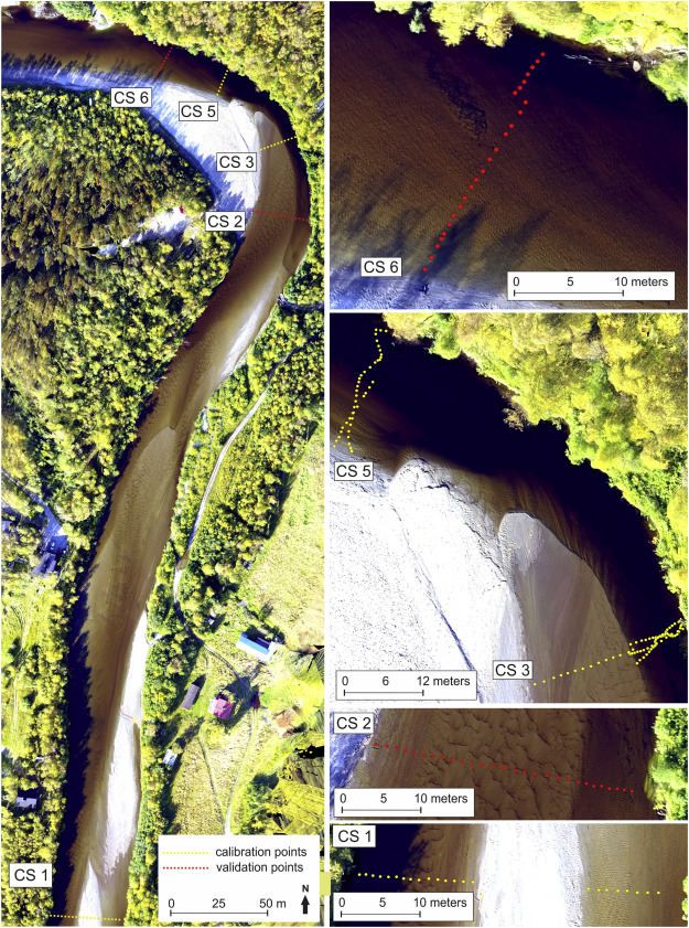 Comparison of remote sensing based approaches for mapping bathymetry