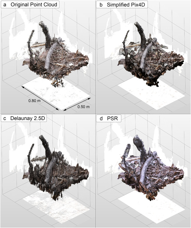 Using Structure from Motion photogrammetry to assess large
