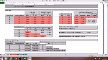 Tutorial and spreadsheets for Bayesian evaluation of risks