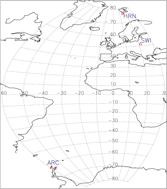 Relationship Of Ground Level Aerosol Concentration And Atmospheric