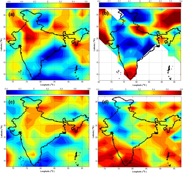 On the association of lightning activity and projected change in
