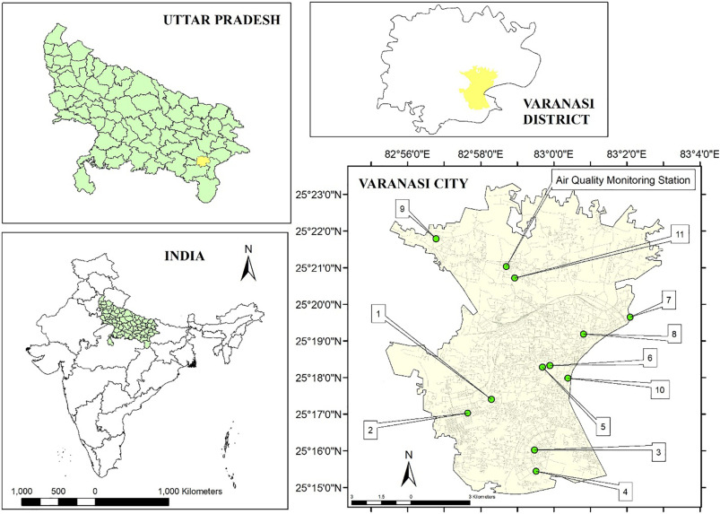 Assessment of local and distant sources of urban PM2 5 in middle