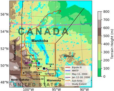 1964 Large-Scale Topographic Map Canada Brandon Manitoba