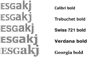 Typeface comparison − Does the x-height of lower-case