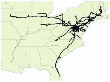 Short-term travel behavior prediction with GPS, land use