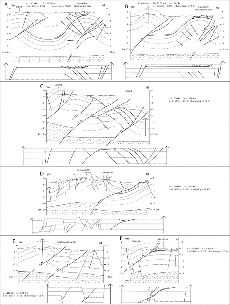 Geometry Segmentation Pattern And Displacement Variations Along A