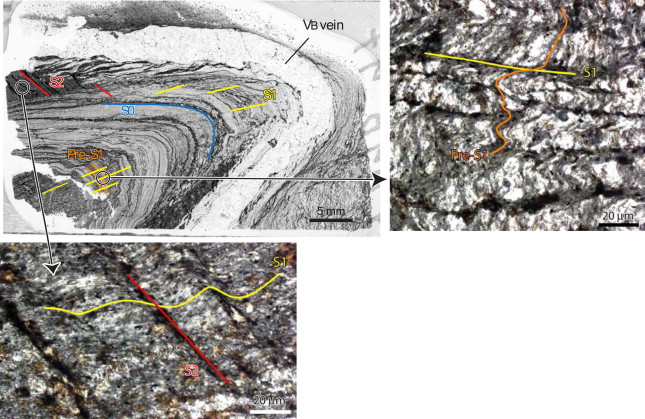 Ugab Terren   Complex Vein Systems As A Data Source In Tectonics An Example From