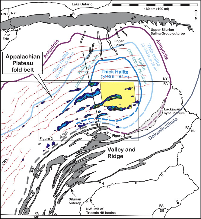 Structural Style Of The Appalachian Plateau Fold Belt North