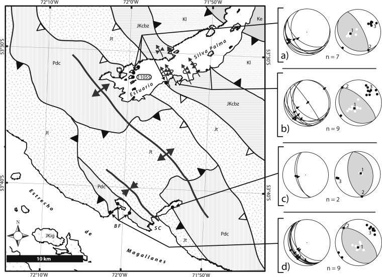 Fault Kinematics Of The Magallanes Fagnano Fault System Southern