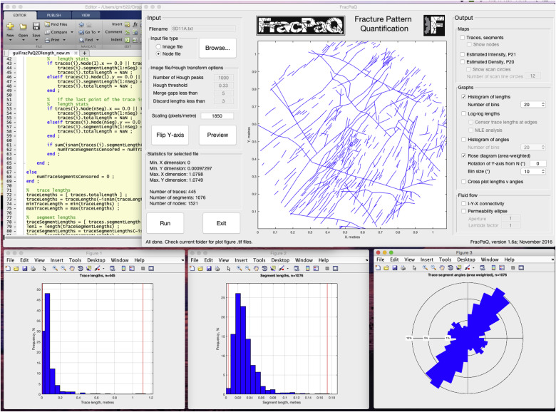FracPaQ: A MATLAB™ toolbox for the quantification of fracture