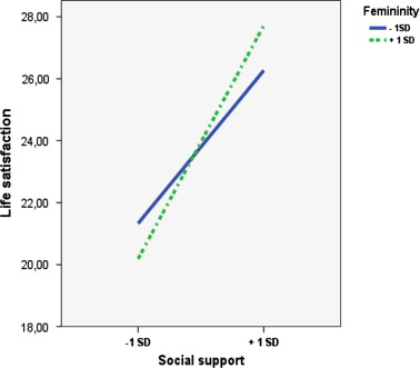 Relevance of gender roles in life satisfaction in adult