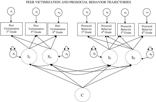 Peer victimization and prosocial behavior trajectories
