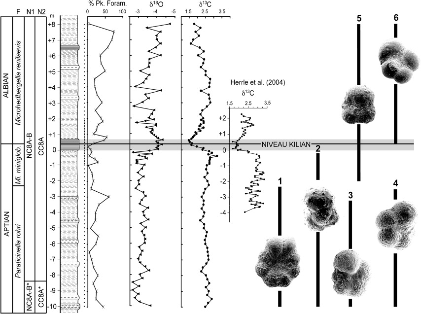 Integrated Stratigraphy Across The Aptianalbian Boundary At
