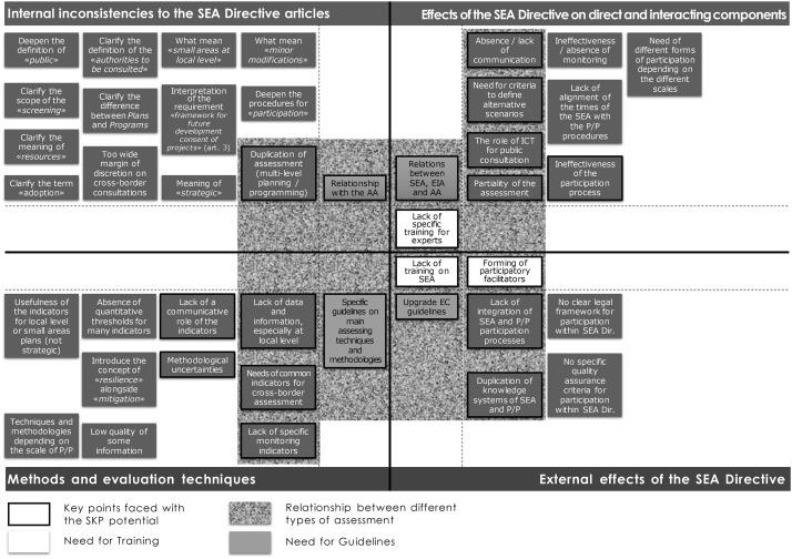 Strategic Environmental Assessment, key issues of its