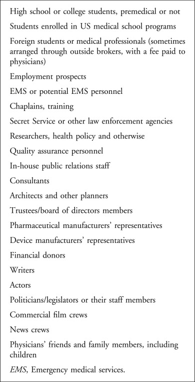 Observers in the Medical Setting - ScienceDirect