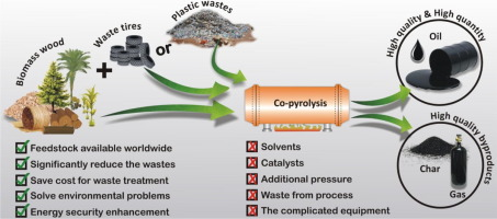 A review on co-pyrolysis of biomass: An optional technique