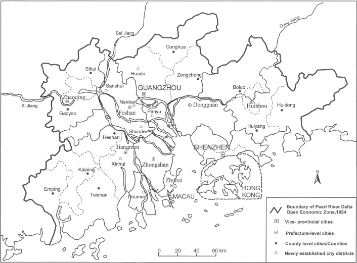 The Pearl River Delta And Hong Kong An Evolving Cross Boundary