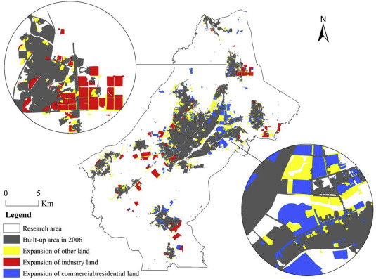Will the land supply structure affect the urban expansion form