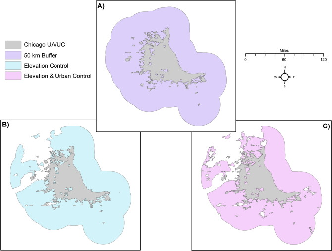 The urban heat island effect and city contiguity - ScienceDirect