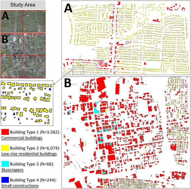 Creating 3D city models with building footprints and LIDAR