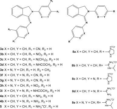 Novel phenyl and pyridyl substituted derivatives of