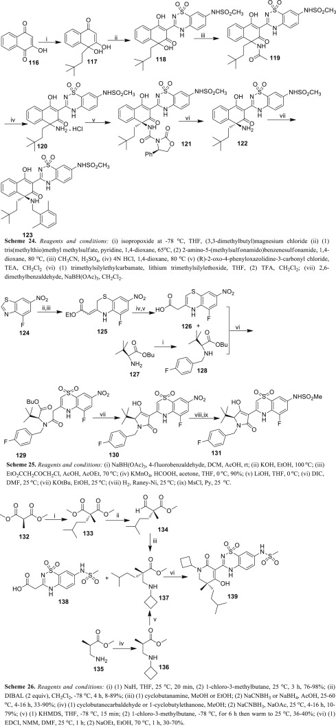 Recent advances on the synthesis of hepatitis C virus NS5B