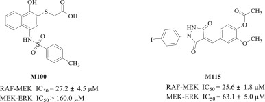 Discovery of carbazole derivatives as novel allosteric MEK