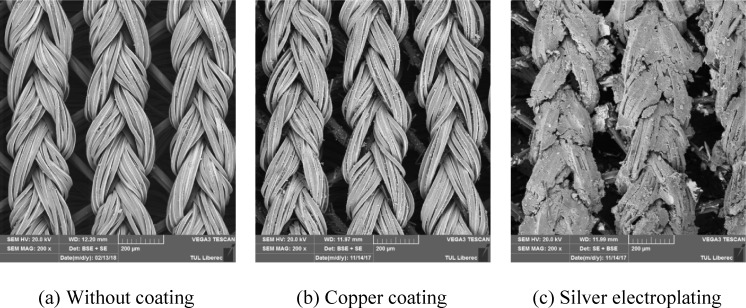 Energy harvesting performance of silver electroplated