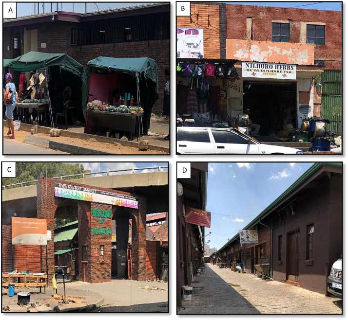 Practices at herbal (muthi) markets in Gauteng, South Africa