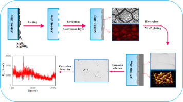 Electrochemical noise analysis to examine the corrosion